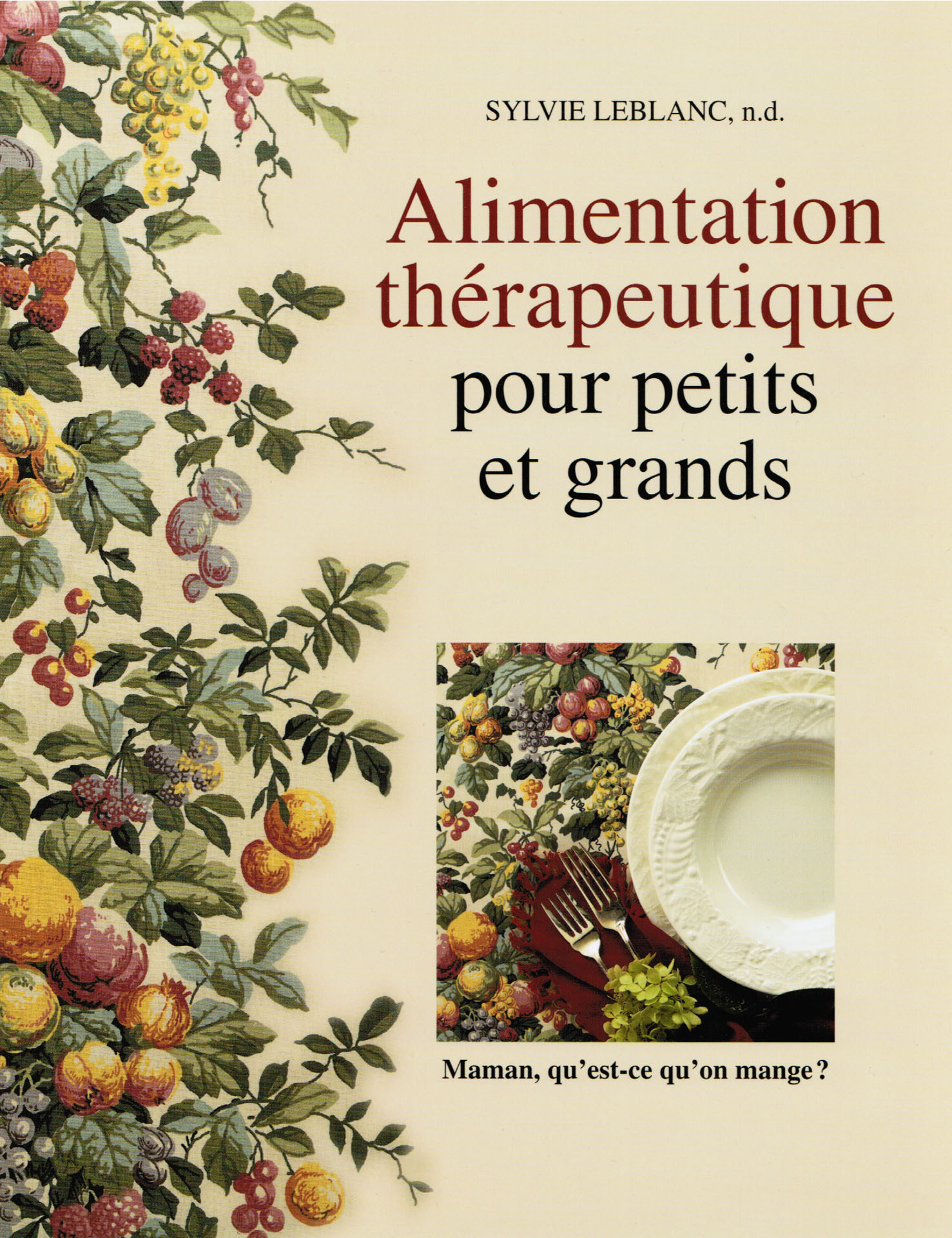 « Alimentation thérapeutique pour petits et grands »